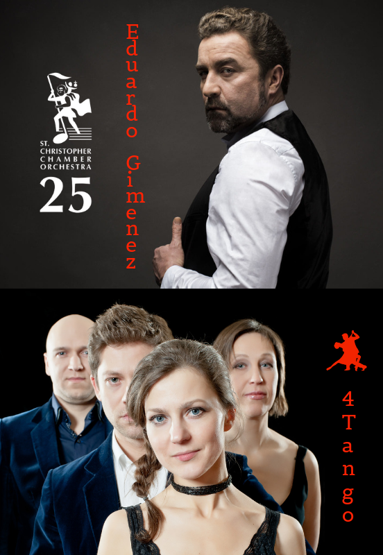 EDUARDO GIMENEZ and 4 Tango with Orchestra