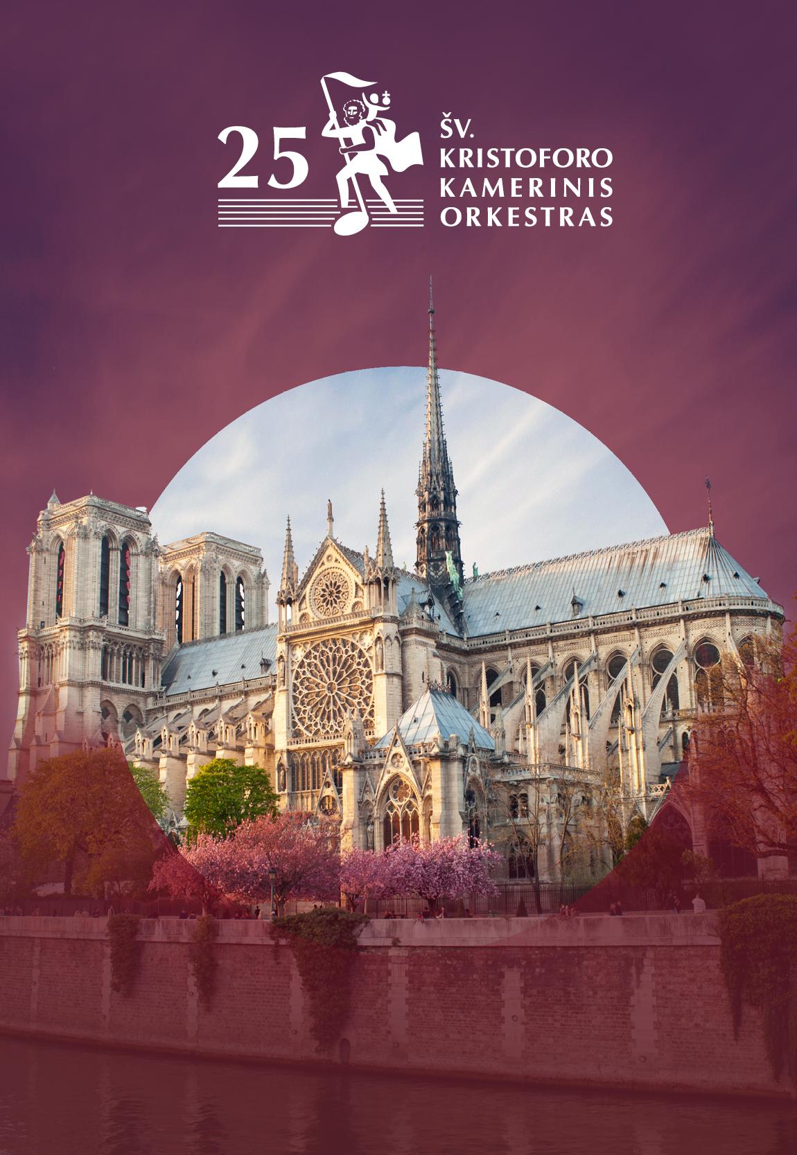 Paryžiaus Dievo Motinos katedrai pagerbti
