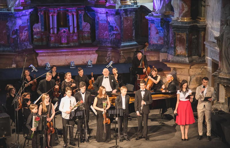 Labdaringas koncertas – VAIKAI VAIKAMS. Dedikacija Maestro