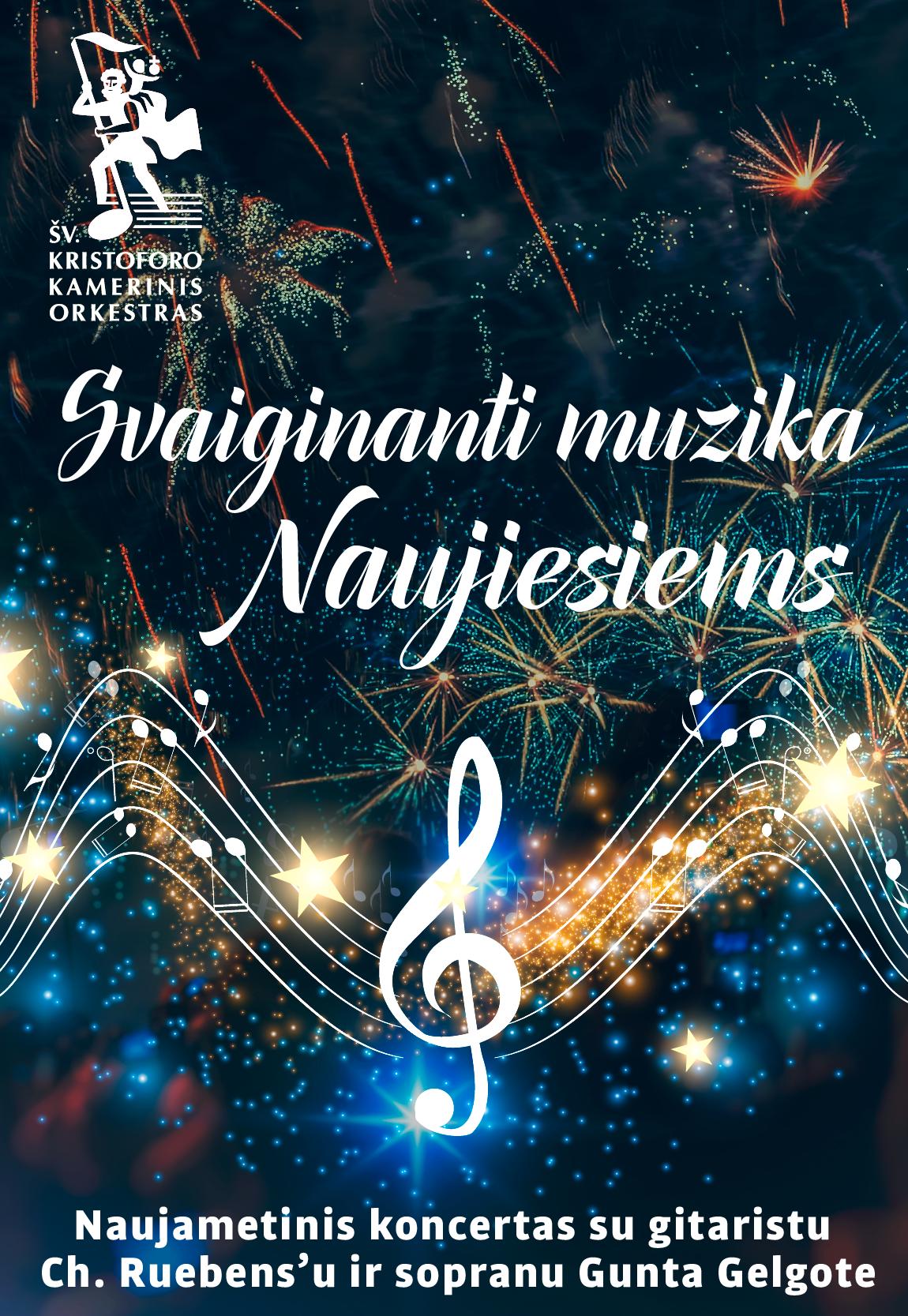 Svaiginanti muzika Naujiesiems