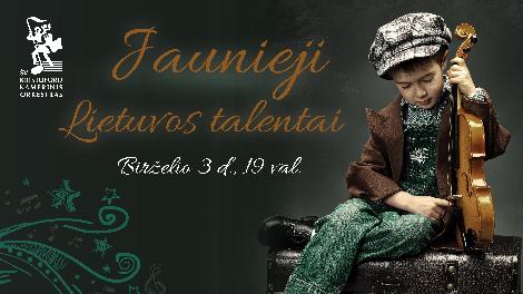 Jaunieji Lietuvos talentai